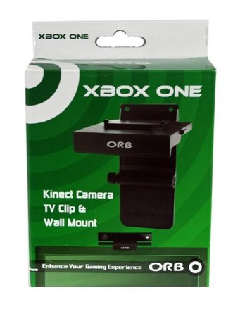 Xbox One Kinect Camera TV Clip and Wall Mount 2in1