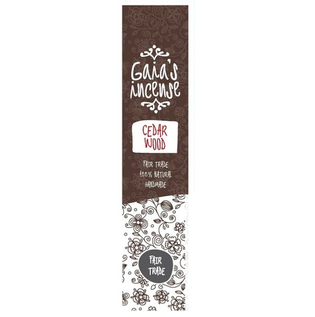 GAIA's incense Cedar Wood 15st