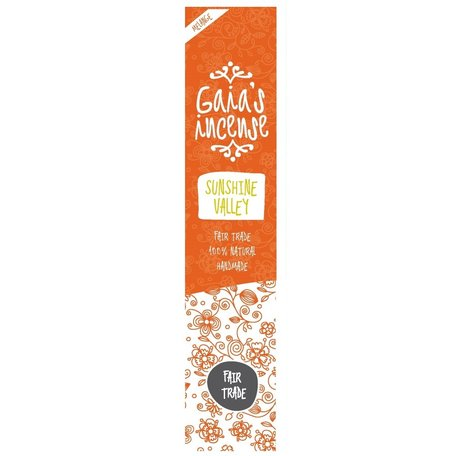 Gaia'S Incense Sunshine Valley 15st