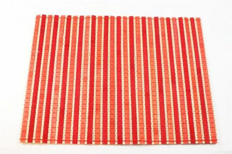 Placemat Bamboe Geel/Donkergeel