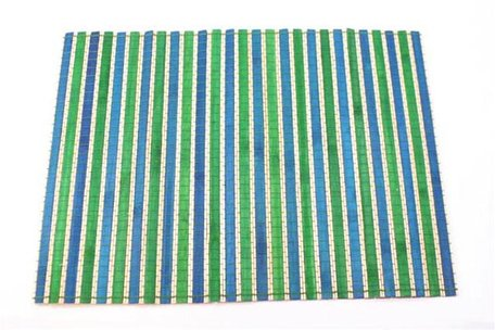 Placemat Bamboe Turquoise/Groen