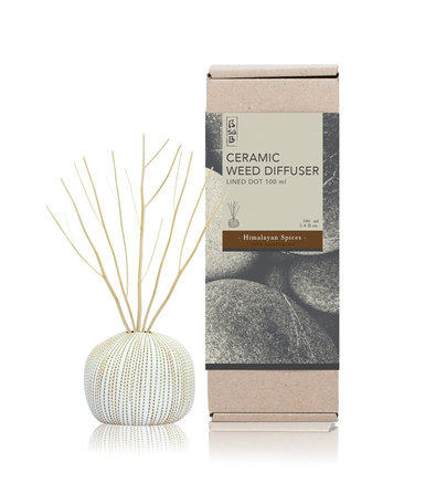 Ceramic Diffuser 100ml Himalayan Spices (Eo)