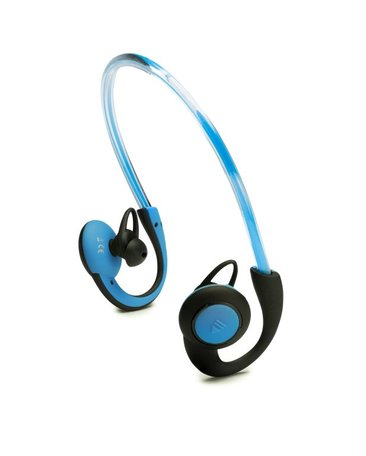Boompods In-Ear Sports Headphones met Licht - Blauw