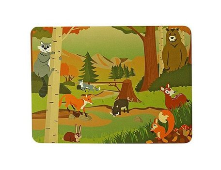 Placemat Forest Animals - 2st